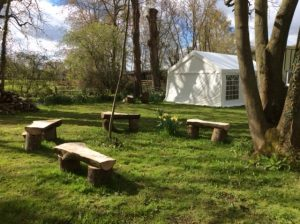 Meeting Room Hire Norfolk - Outdoor area